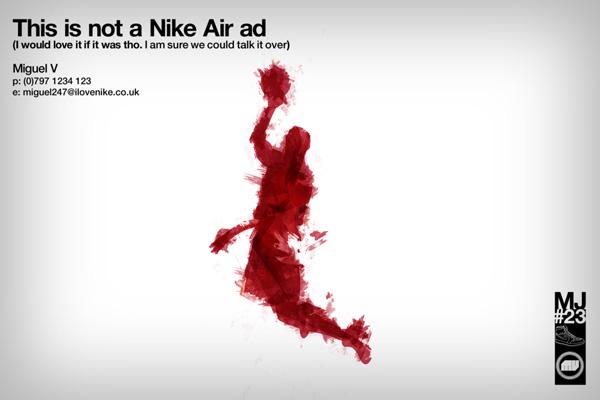 Nike Air Jordan Ad